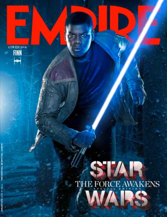 Star Wars_The Force Awakens_Empire Cover_Finn