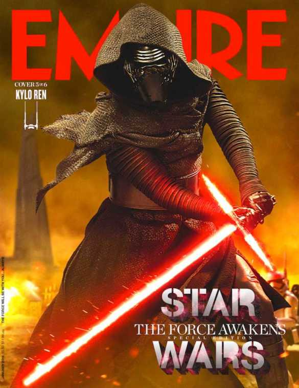 Star Wars_The Force Awakens_Empire Cover_Kylo Ren