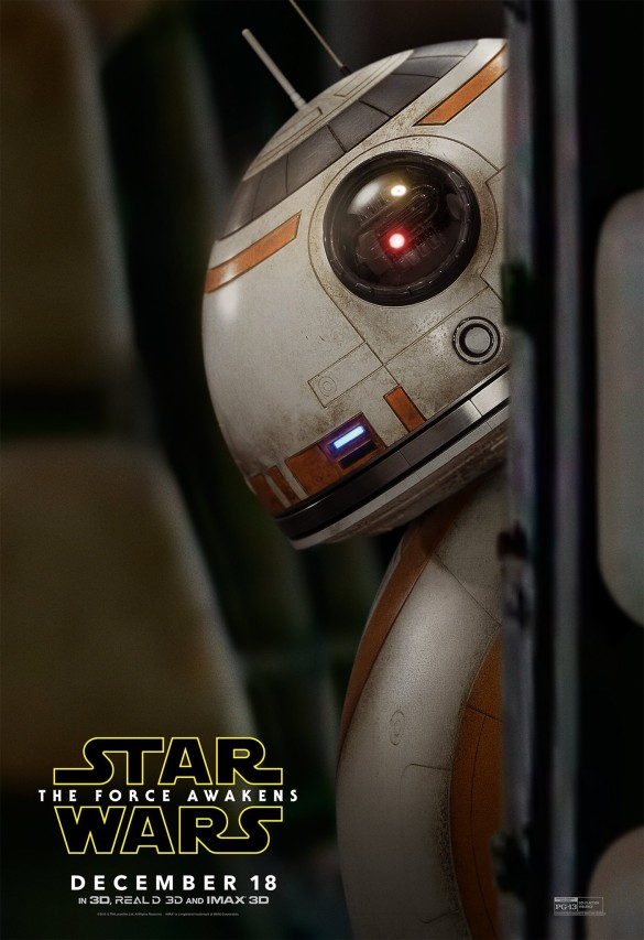 Star Wars_The Force Awakens_BB8 Character Poster
